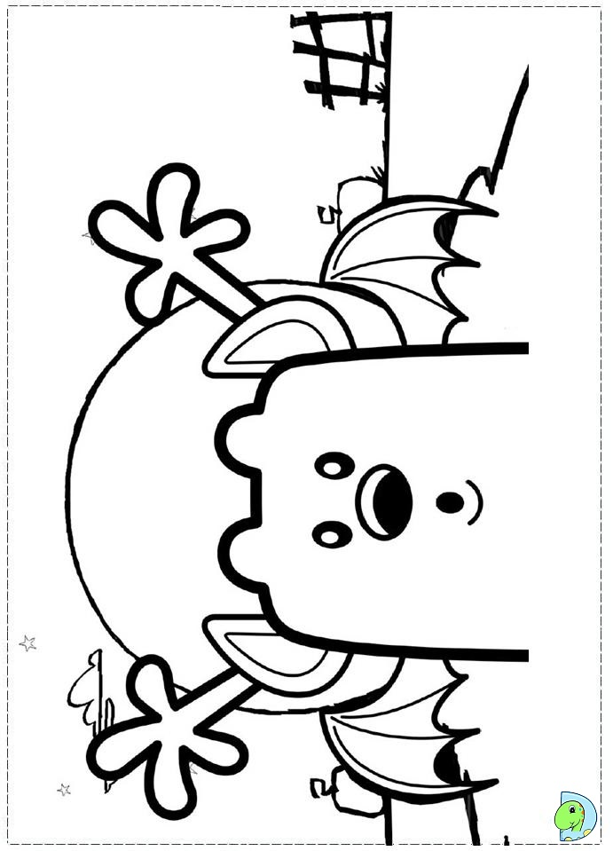 Wow Wow Wubbzy Coloring Page Dinokids Org Wow Wow Wubbzy Coloring Pages