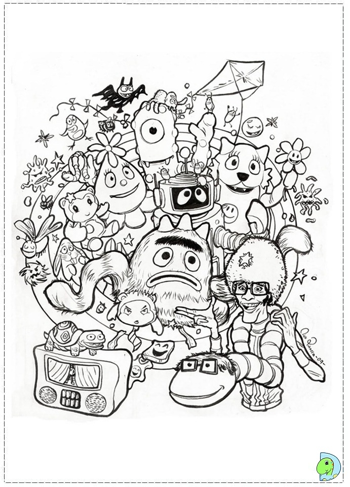 Ral 6005 colouring pages page 2 car interior design for Brobee coloring page