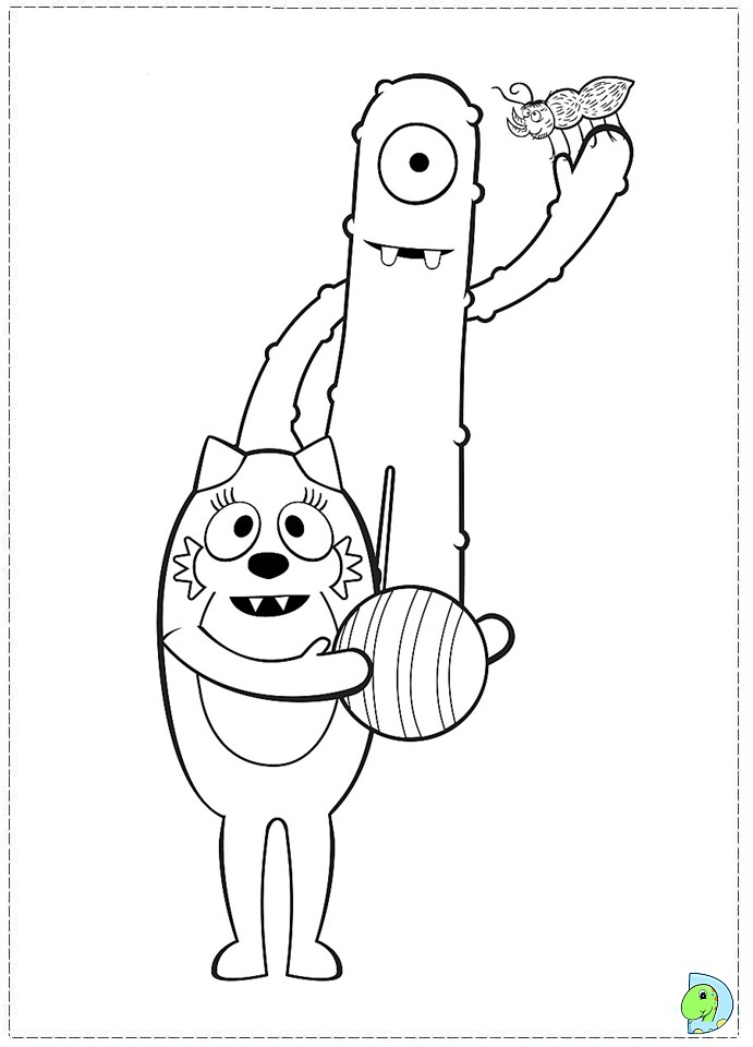 muno coloring pages - photo#11