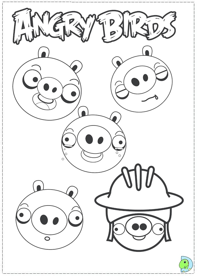 Free Angry Birds Space Terence Coloring Pages