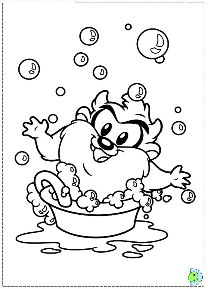 baby loony tunes coloring pages - photo#27
