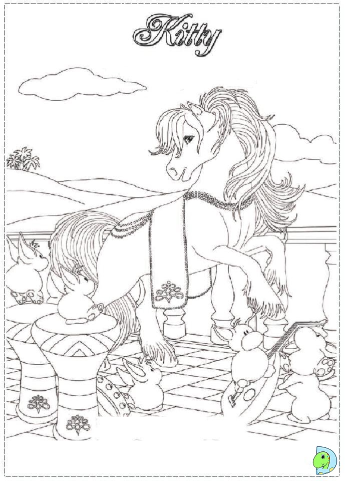 Bella Sara Gorses Colouring Pages
