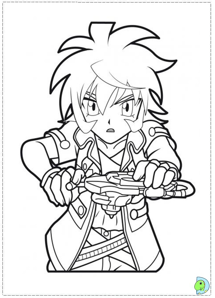 beyblade coloring pages rock lyon - photo#25