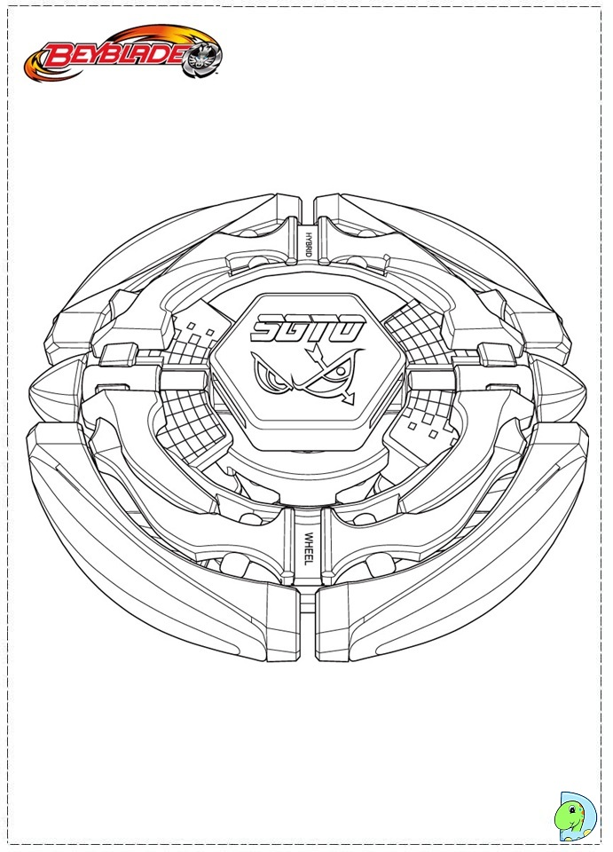 Beyss Leviathan Beyblade Coloring Pages Beyss Leviathan