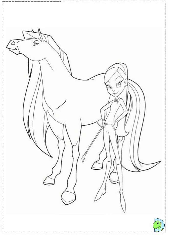 Horseland coloring page for Coloring pages horseland
