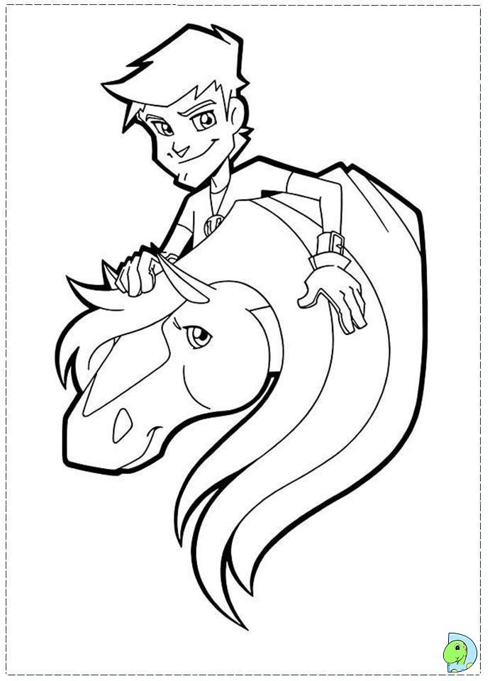 Картинки лошадки для раскраски