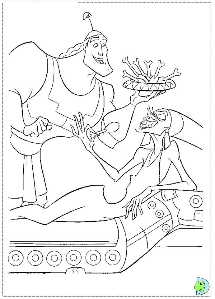 kronk coloring pages - photo#21