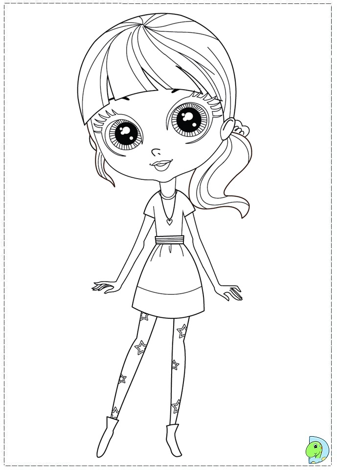 Littlest pet shop coloring pages search results for Littlest pet shop zoe coloring pages