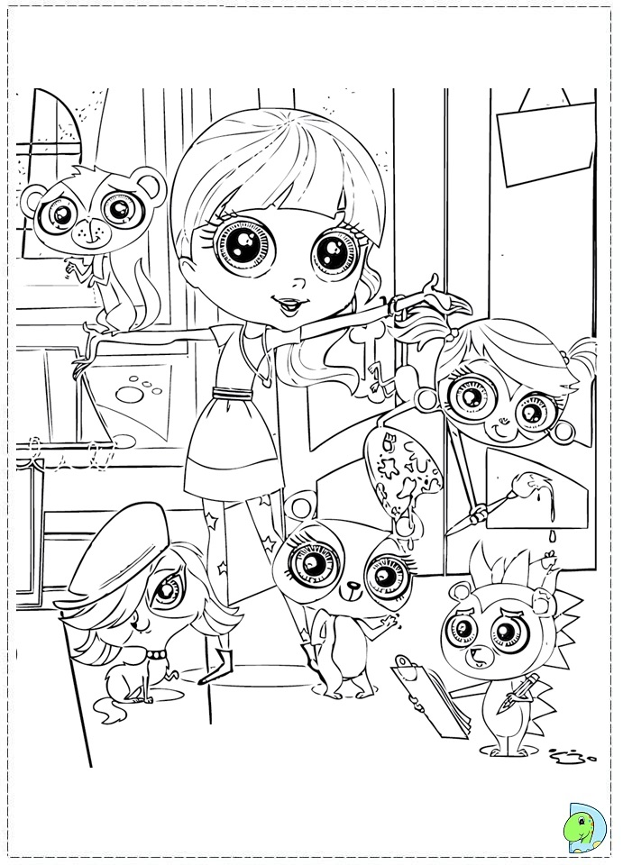 lps coloring pages games online - photo#12