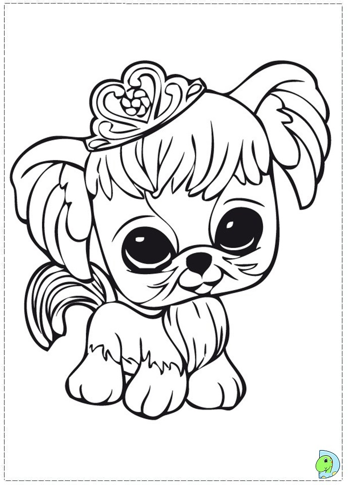 Littlest Pet Shop Coloring page - DinoKids.org