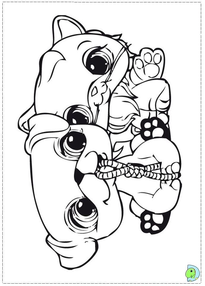 Free coloring pages of zoe littlest pet shop for Littlest pet shop zoe coloring pages