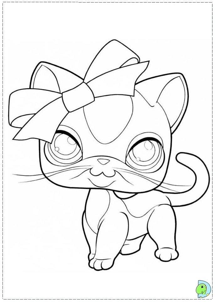 coloring pages of littlest pet shop animals - the ugglys pet shop coloring pages