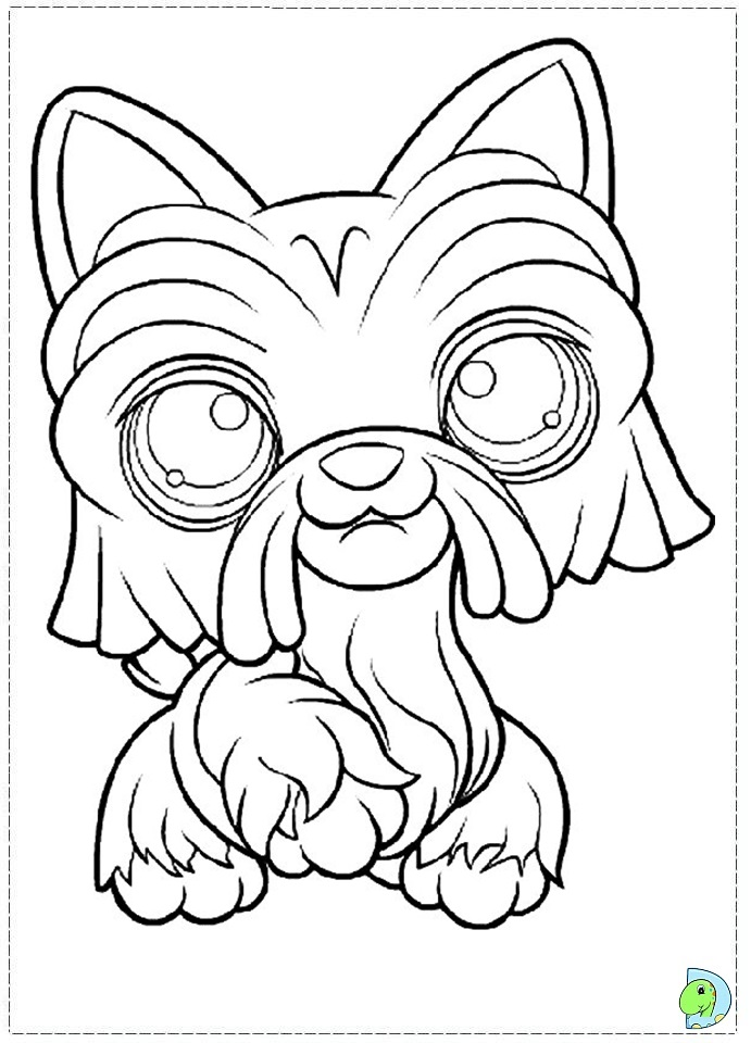 lps coloring pages dachshund puppies - photo#11