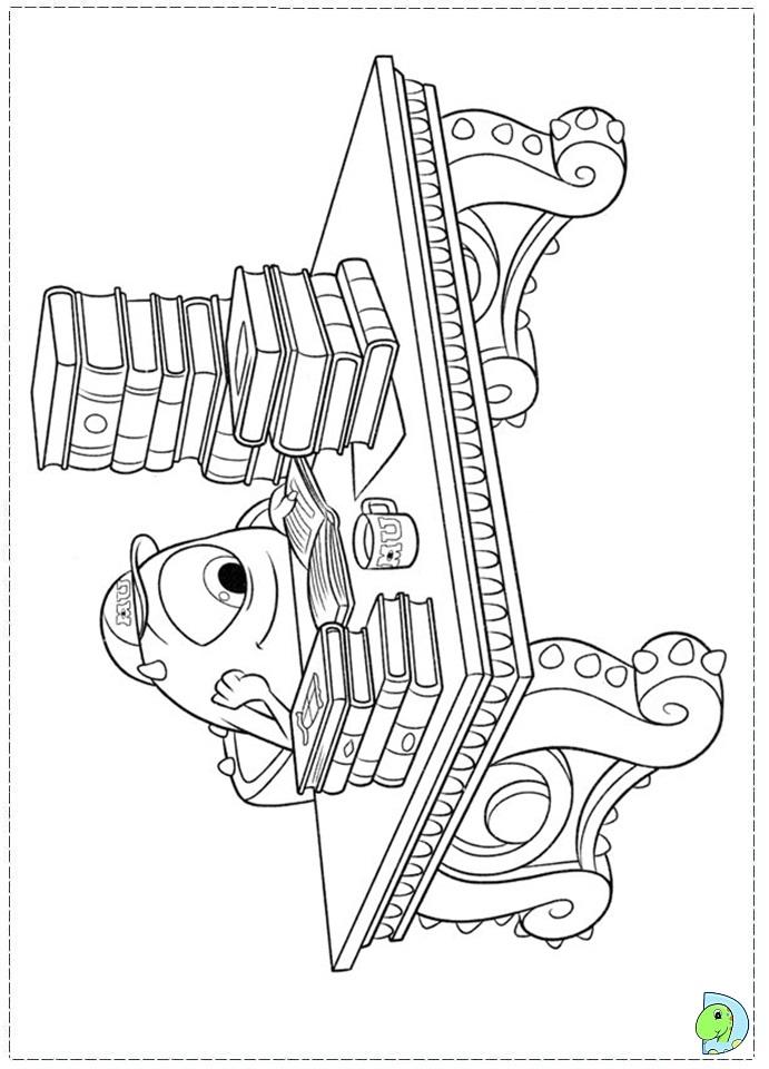 uni coloring pages - photo#29