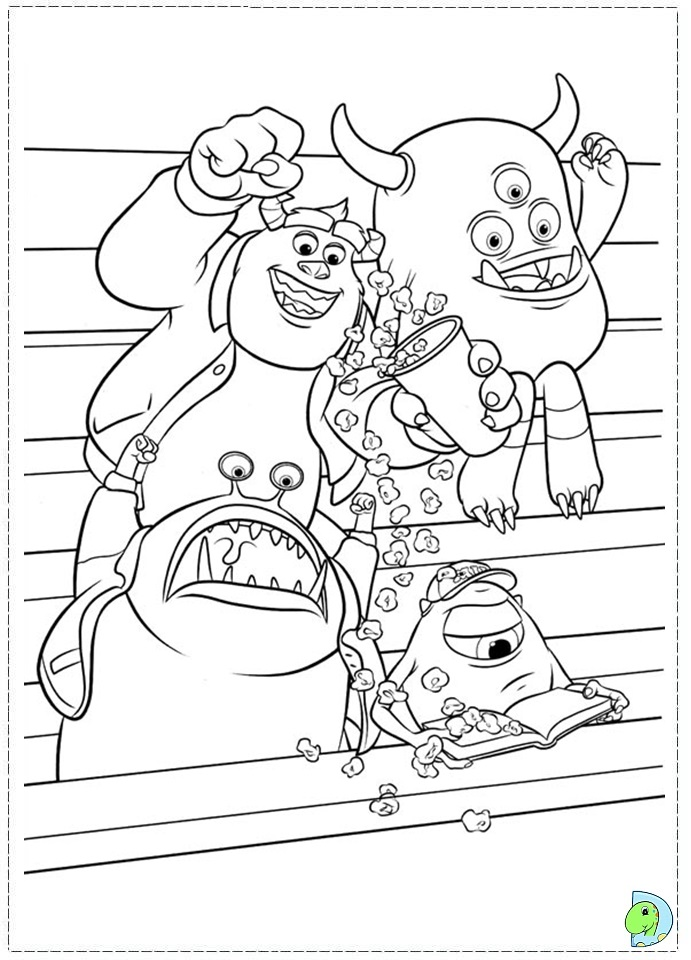 uni coloring pages - photo#12