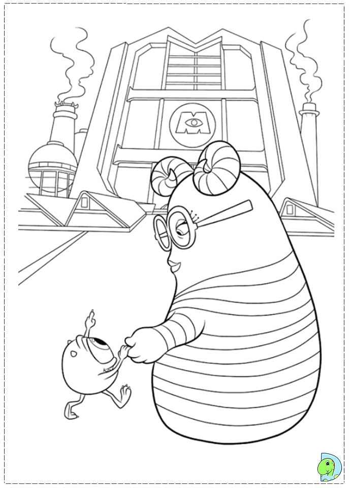 Squishy Monsters University Coloring Pages Coloring Pages