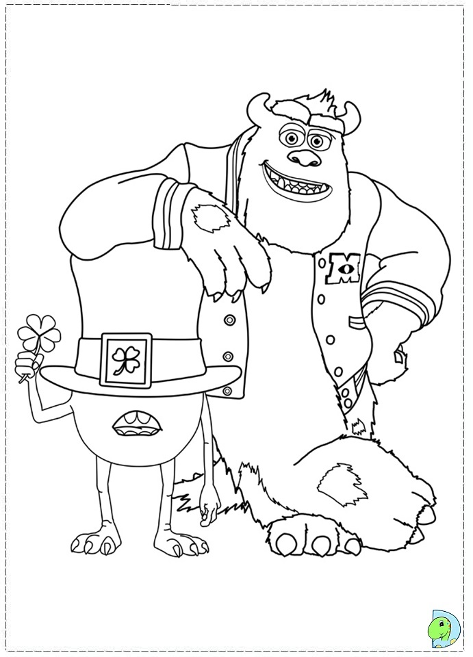 uni coloring pages - photo#15