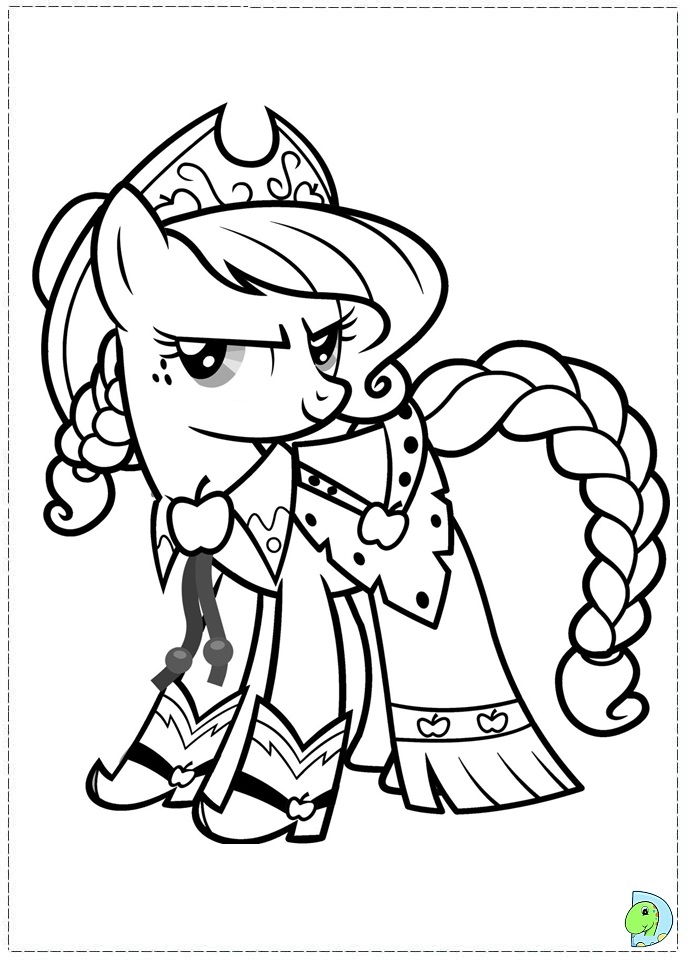 My Little Pony Hub Coloring Pages : Free coloring pages
