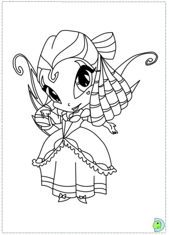Pop Pixie Pam Coloring Pages Coloring Pages