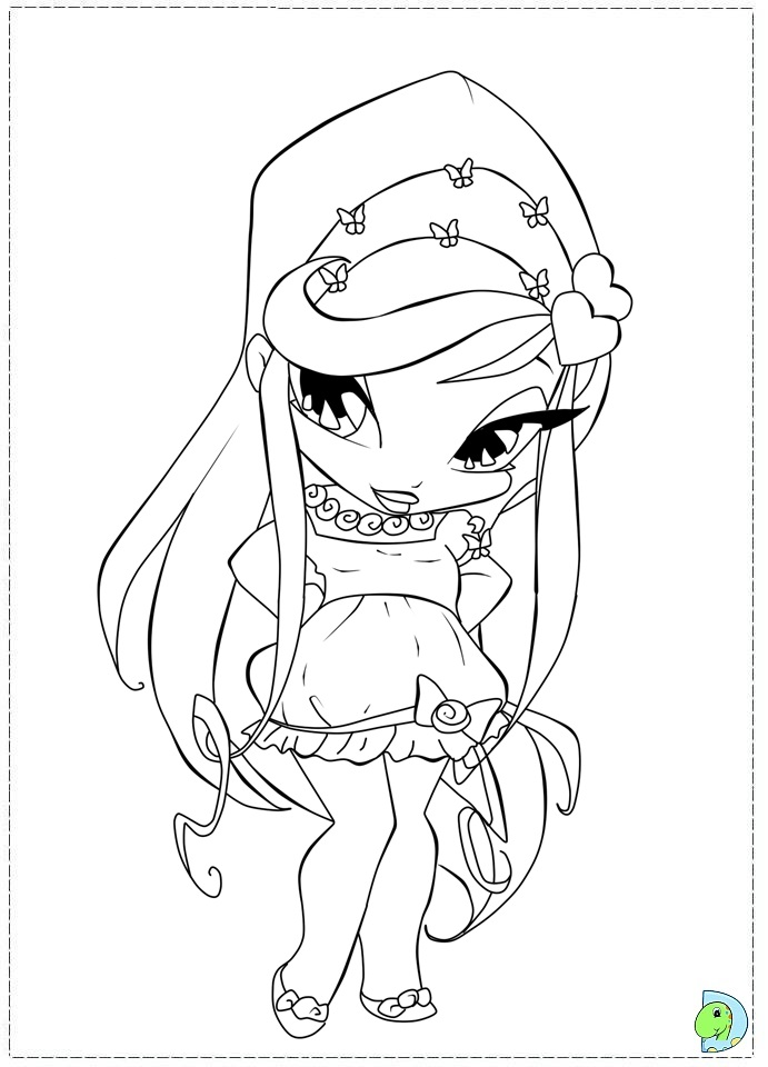 Pop pixies coloring page for Pixie hollow coloring pages