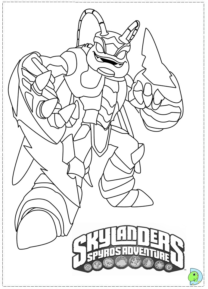 skylander coloring pages to print lego ninjago coloring
