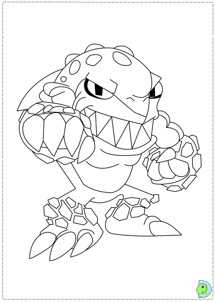 Skylanders Logo - Free Colouring Pages