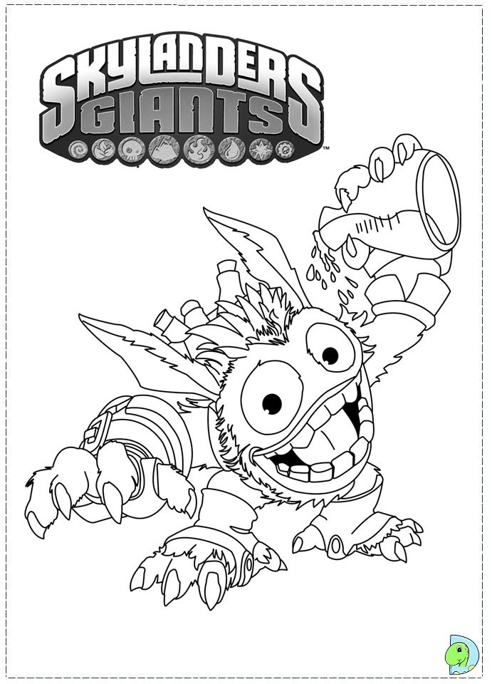 skylanders coloring pages spitfire seattle - photo#25