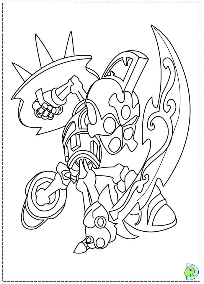 Skylanders giants trigger happy free colouring pages for Skylanders printable coloring pages