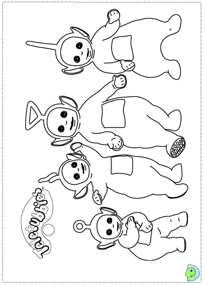 Barney And Friends Coloring Pages  Best Place to Color