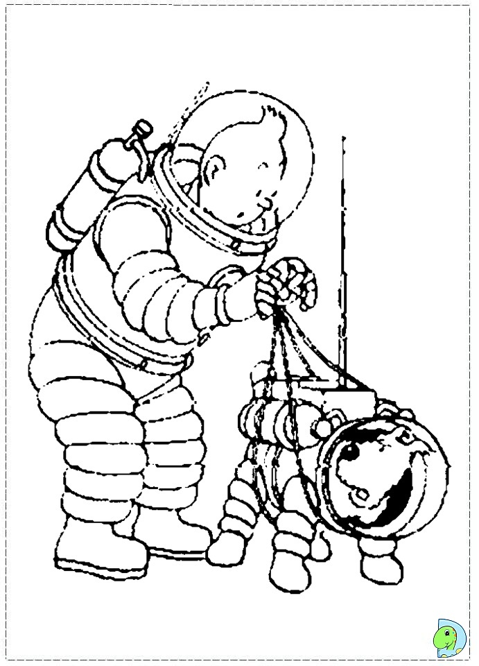 tintin coloring pages - tintin printable coloring pages