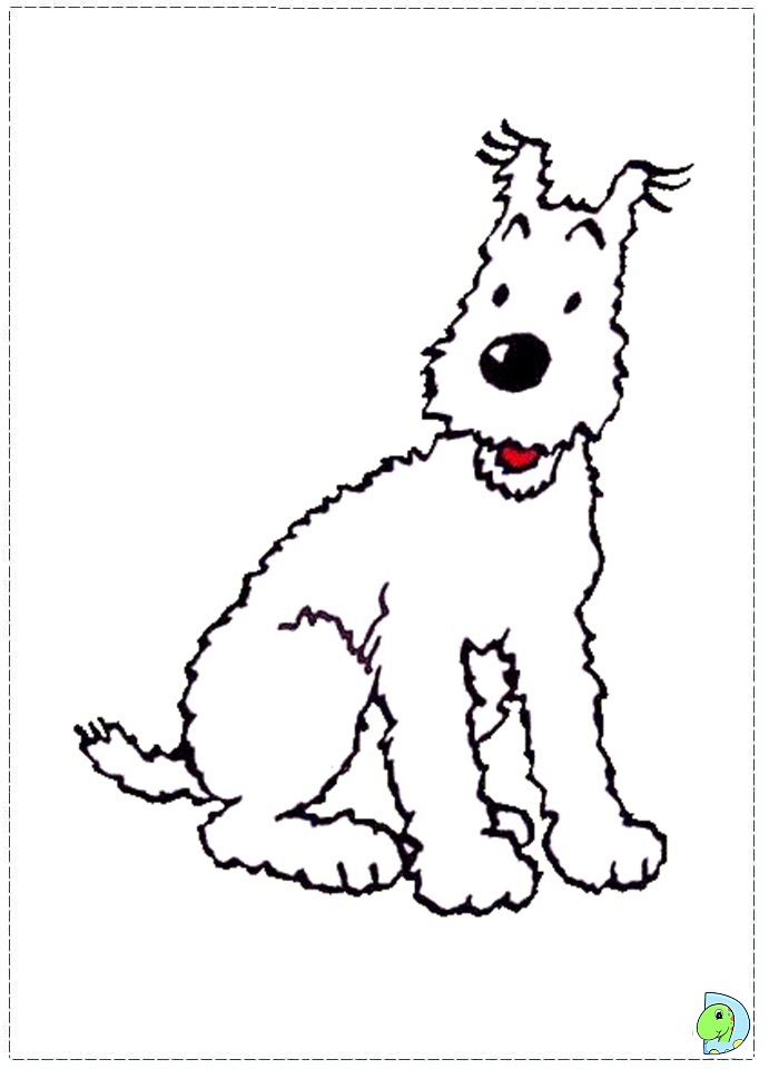 Free Coloring Pages Of Tintin Tintin Coloring Pages