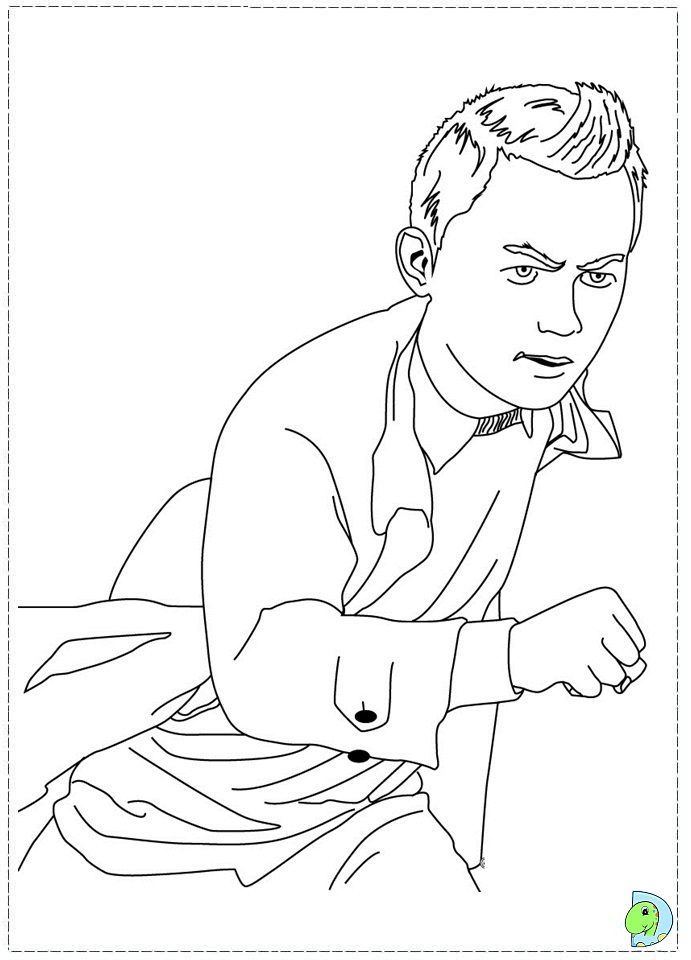 The Adventures of Tintin Coloring Pages | 960x691