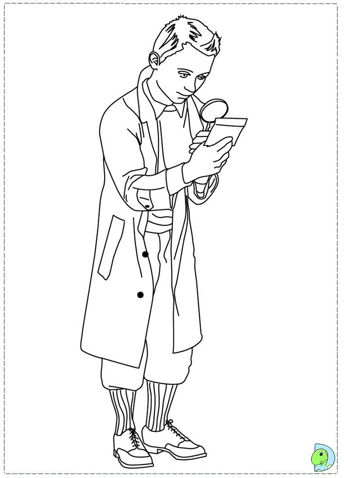 Tin Tin Free Coloring Pages