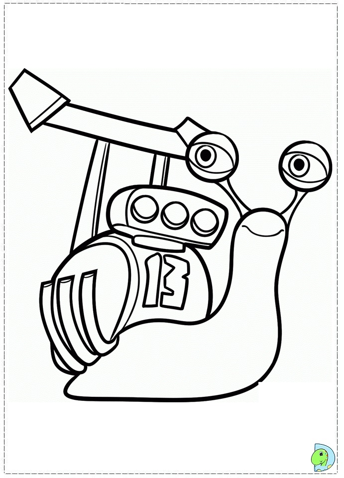 burned turbo snails coloring pages - photo#27