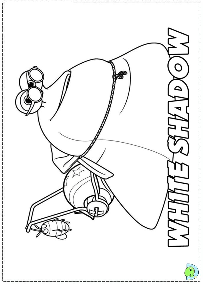 turbo character coloring pages-#20