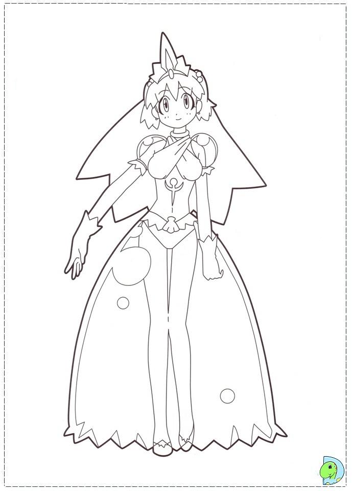 dinokids manga coloring pages - photo#28