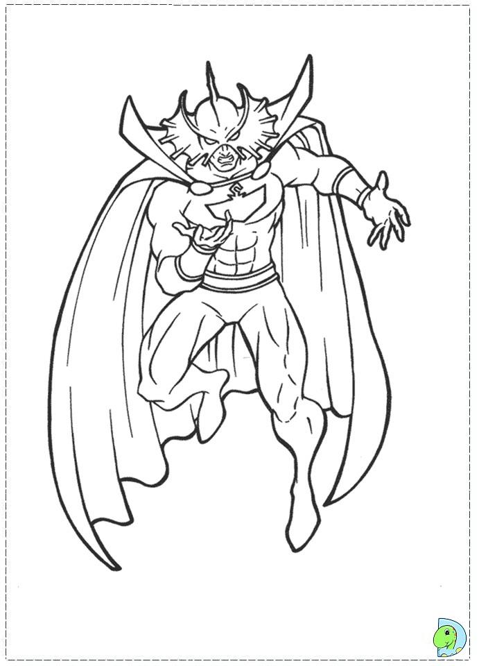 aquaman symbol coloring pages - photo#4