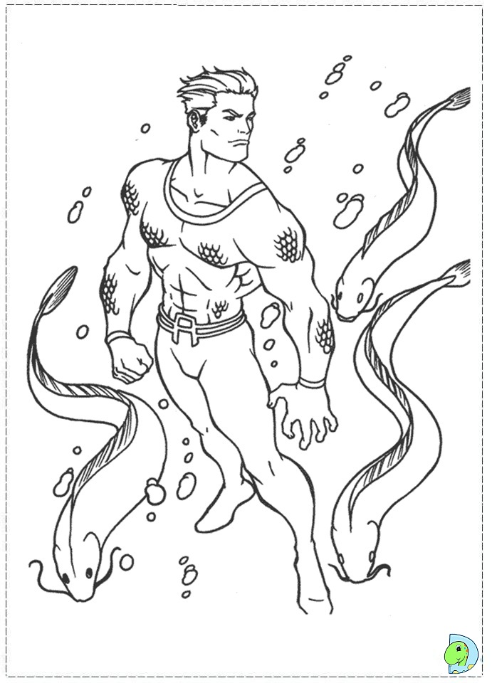 Flash Dc Coloring Page
