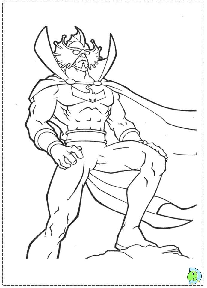 aquaman symbol coloring pages - photo#3