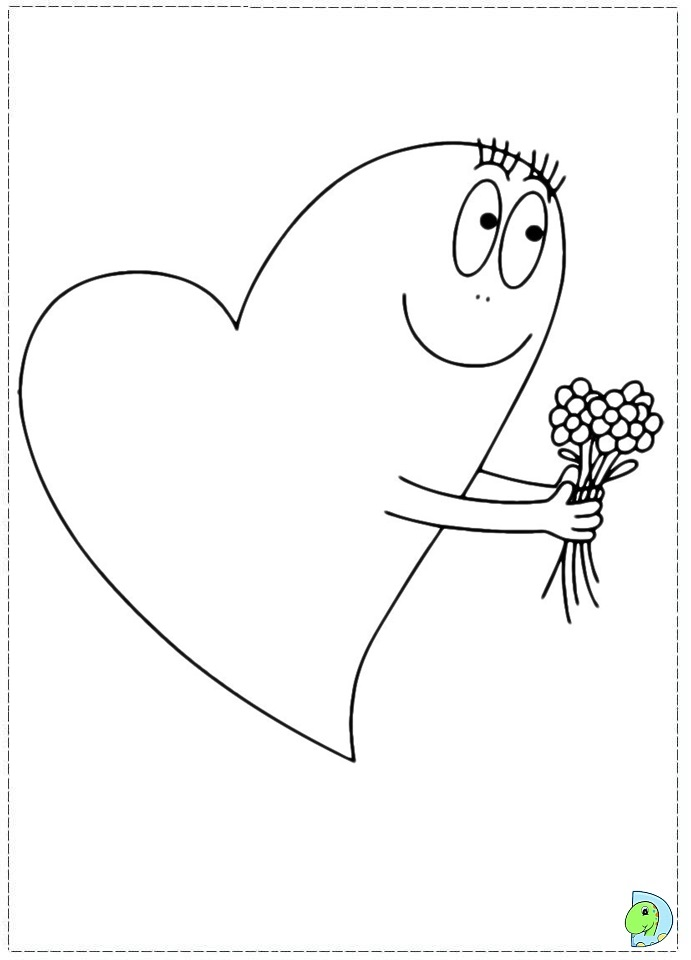 Barbapapa Coloring Page On Dinokidsorg