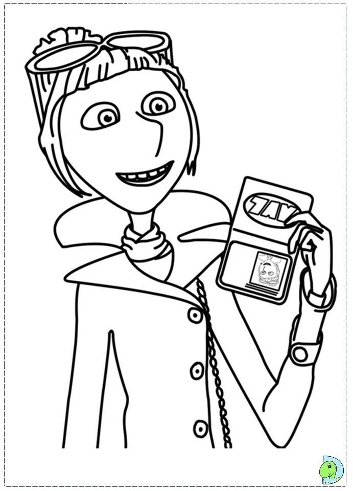 despicable me antonio coloring pages - photo#17