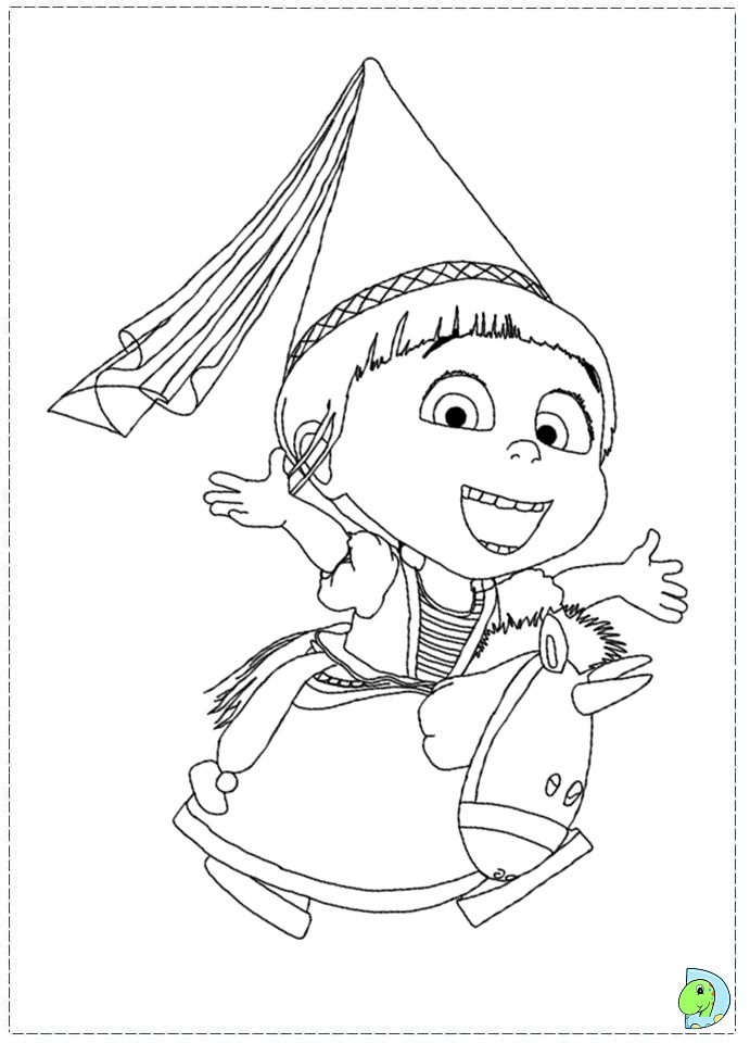 82 Coloring Pages Despicable Me