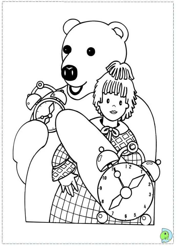 Goodnight Kids Coloring Page DinoKidsorg