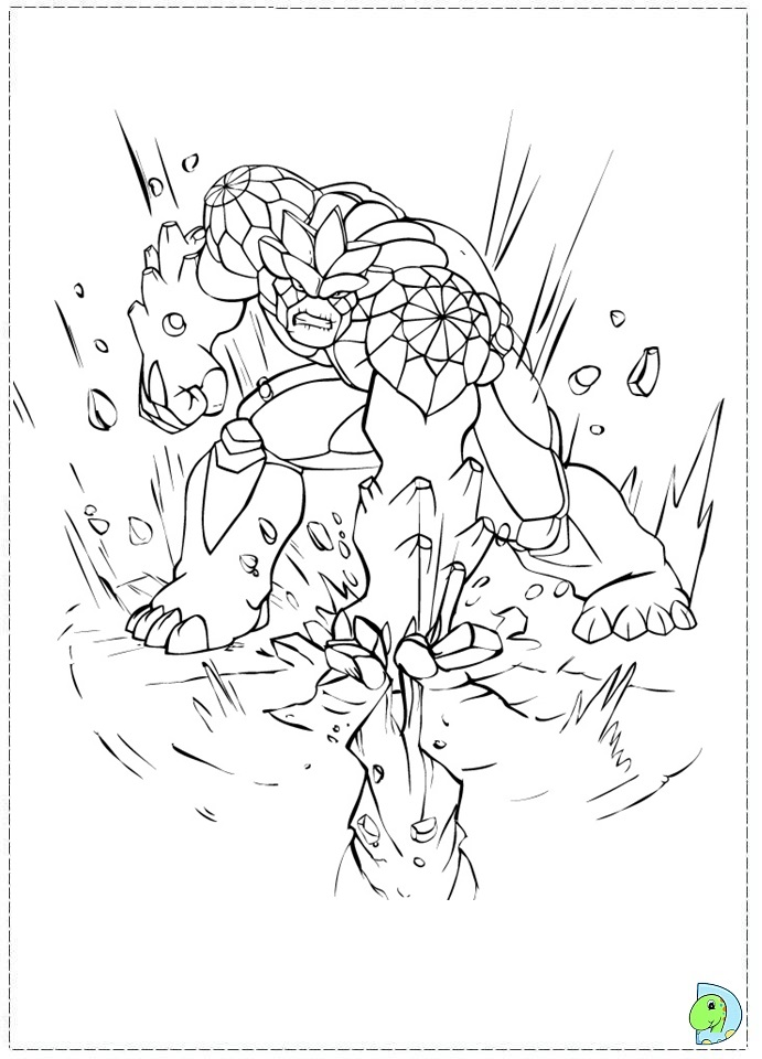gormiti games coloring pages - photo#18