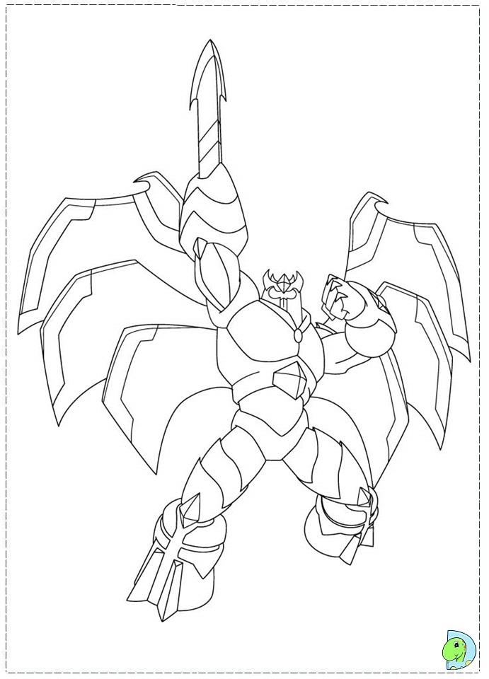 Gormiti Coloring Page Dinokids Org Gormiti Coloring Pages