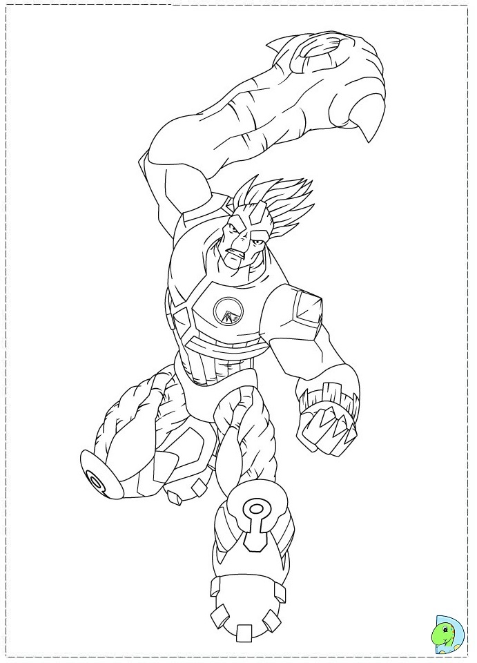gormiti games coloring pages - photo#6