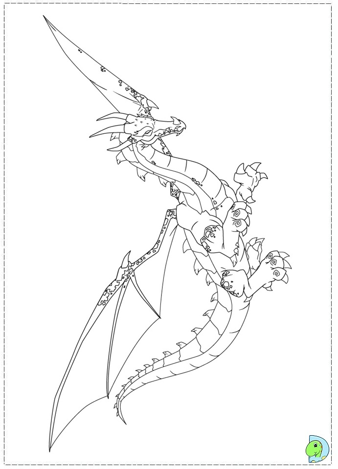 Gormiti Coloring page- DinoKids.org