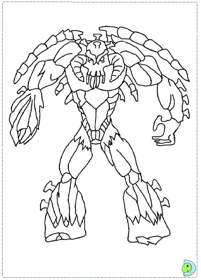 gormiti games coloring pages - photo#12