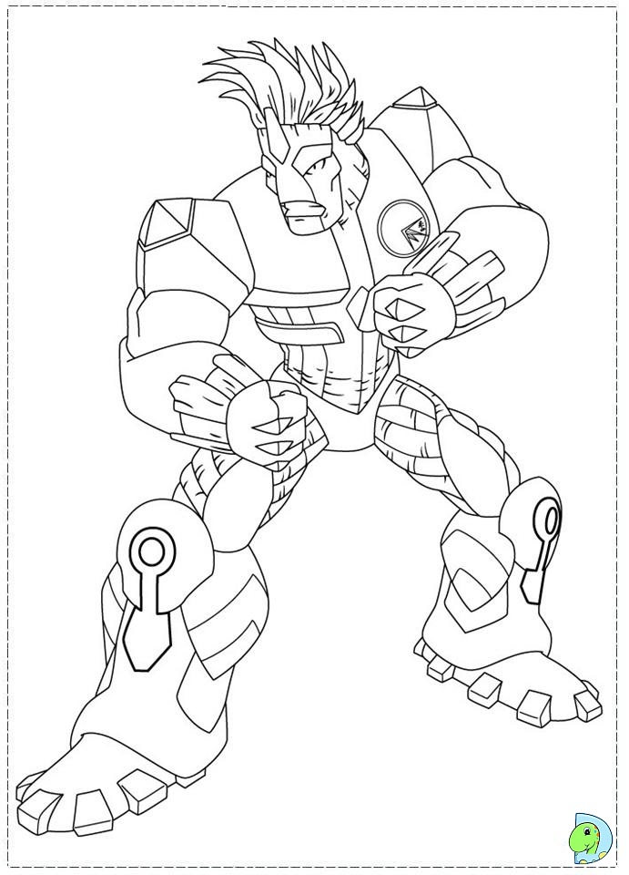 gormiti games coloring pages - photo#19