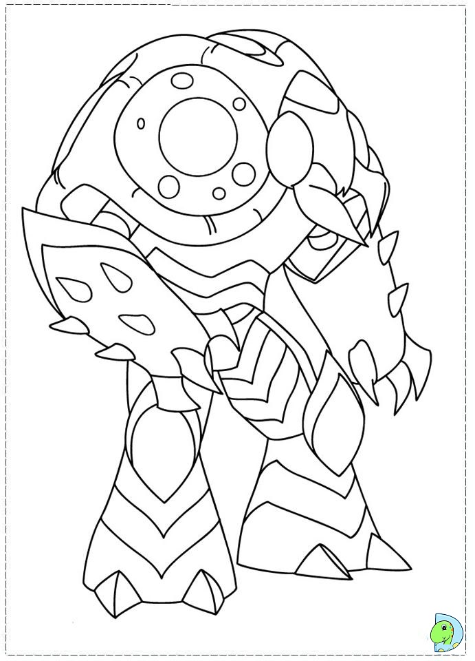 gormiti games coloring pages - photo#15